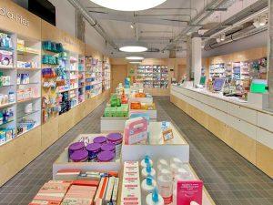 Reforma integral de farmacia en Barakaldo