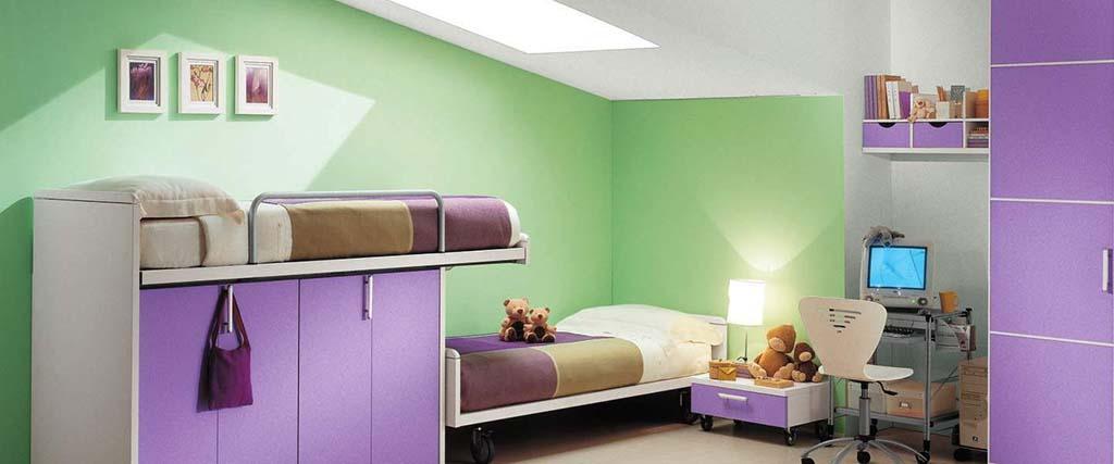 Elegir los colores para pintar una habitaci n - Pasos para pintar una habitacion ...
