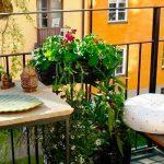 Balcones pequeños con encanto