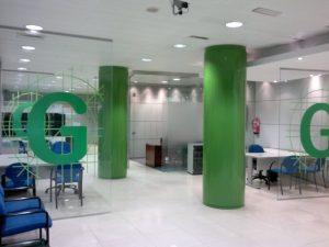 Reforma de oficinas de Garkanba