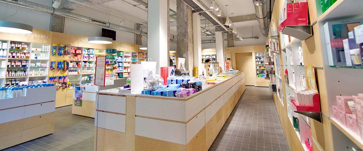 Reforma de farmacia en Barakaldo