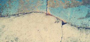 Grietas en las paredes